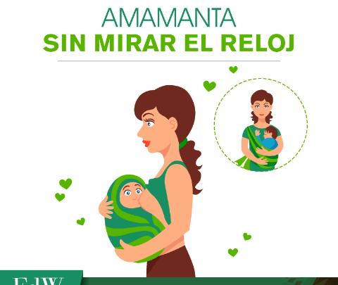 Lactancia materna es lo mejor para tu bebé