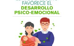 El apego es un vínculo de amor que favorece el desarrollo en los bebés