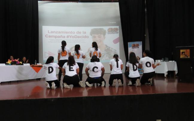 La Campaña #YoDecido se lanza en El Salvador