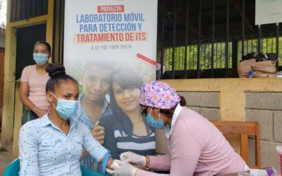 Honduras: Laboratorio móvil para detección y atención de ITS