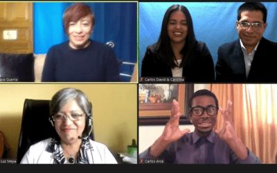Ecuador: un Curso Básico para promotores con discapacidad auditiva